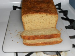 Millet Oat Bread sliced