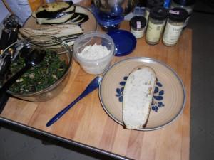 Eggplant Rollups Prep